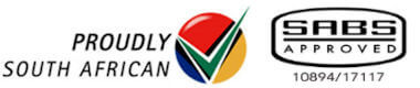 SABS Approved and Proudly South African